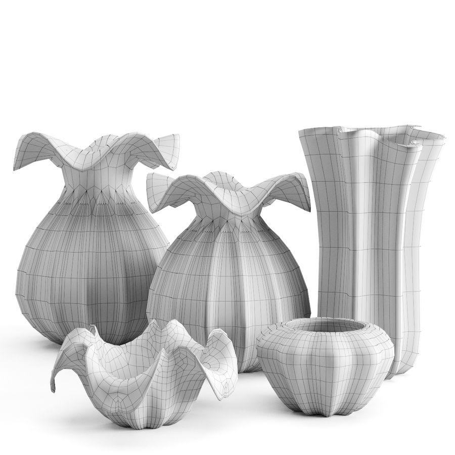 Eichholtz Vasen Set 1 royalty-free 3d model - Preview no. 3