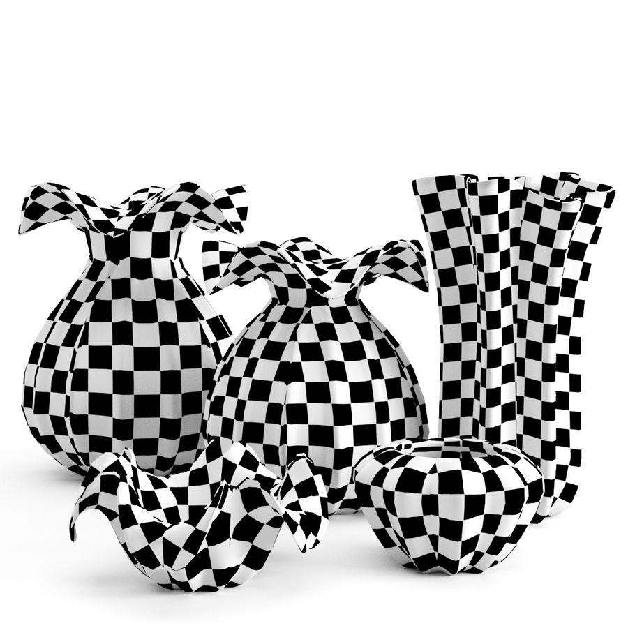 Eichholtz Vasen Set 1 royalty-free 3d model - Preview no. 4