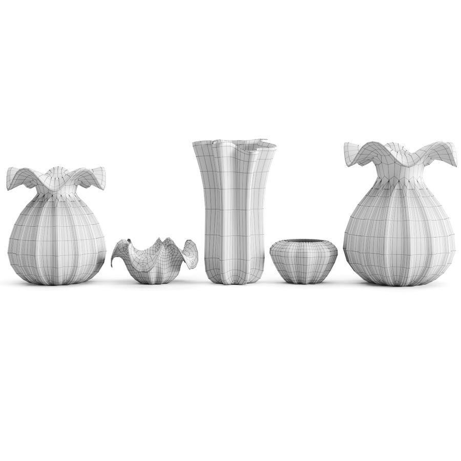 Eichholtz Vasen Set 1 royalty-free 3d model - Preview no. 6