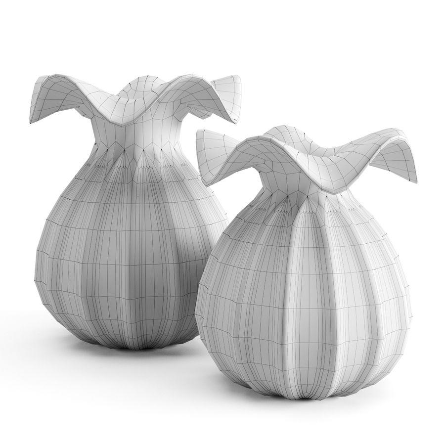 Eichholtz Vasen Set 1 royalty-free 3d model - Preview no. 9