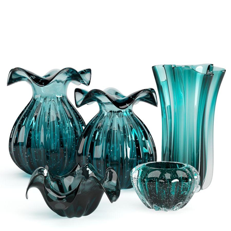 Eichholtz Vasen Set 1 royalty-free 3d model - Preview no. 2