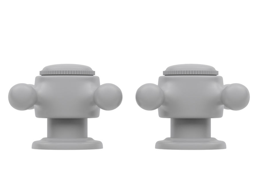 Lavabo Bataryası royalty-free 3d model - Preview no. 10
