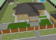 土地 3d model