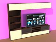 BESTA TV-lagring 3d model