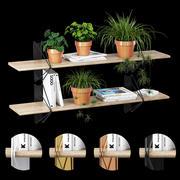 Система стеллажей 3d model