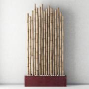 Bamboo decor n10 3d model