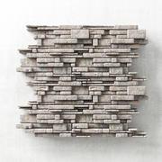 Panneau en brique de pierre n8 3d model
