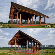 3D Pavilions-modell 3d model