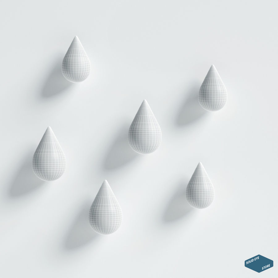 Lassen Sie es von Normann Copenhagen fallen royalty-free 3d model - Preview no. 5