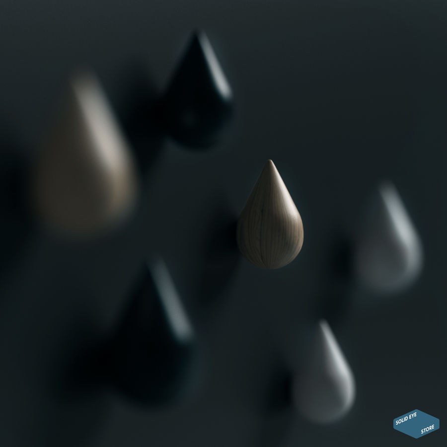 Lassen Sie es von Normann Copenhagen fallen royalty-free 3d model - Preview no. 4
