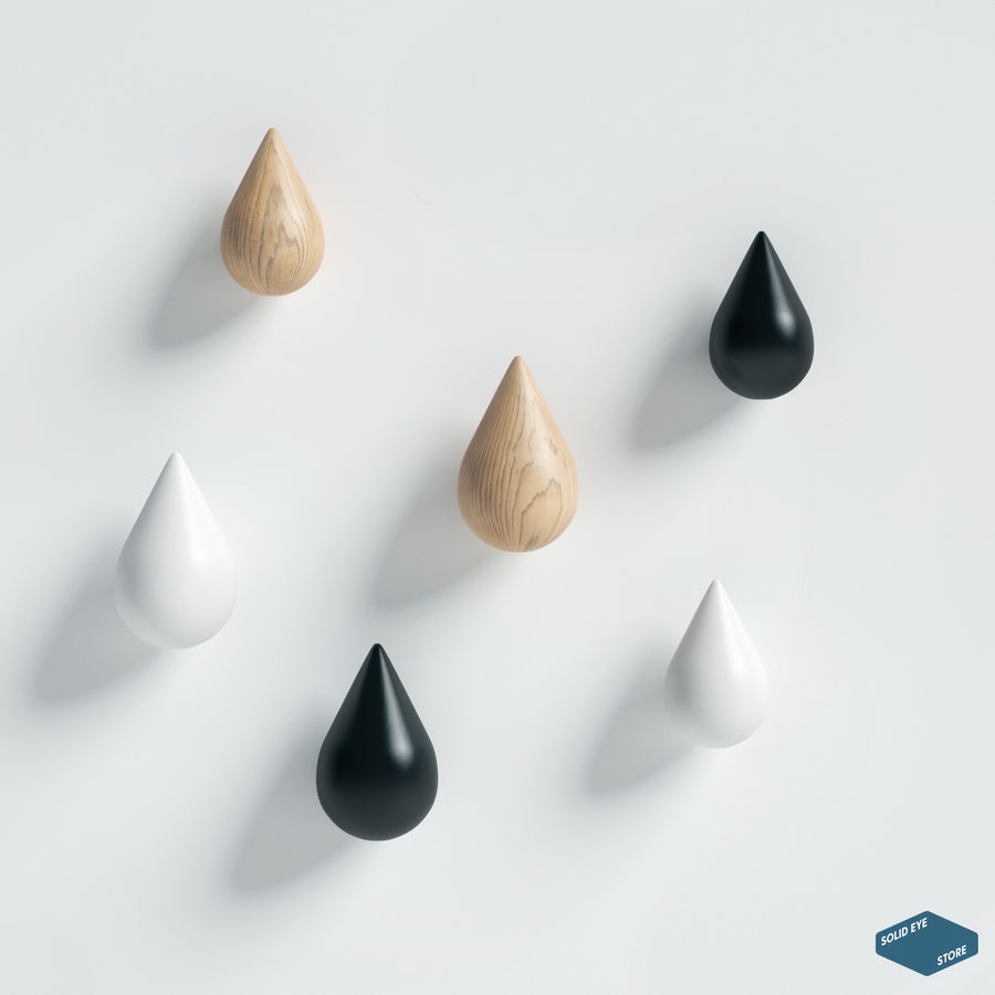 Lassen Sie es von Normann Copenhagen fallen royalty-free 3d model - Preview no. 2