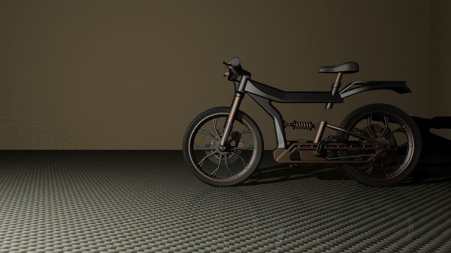 cycle royalty-free 3d model - Preview no. 3