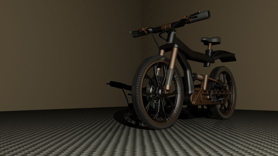 cycle royalty-free 3d model - Preview no. 1