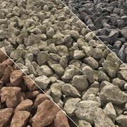 Grava de piedra n3 modelo 3d