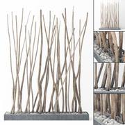 Decoración de rama seca n3 modelo 3d
