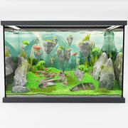 projeto de aquário 3d model