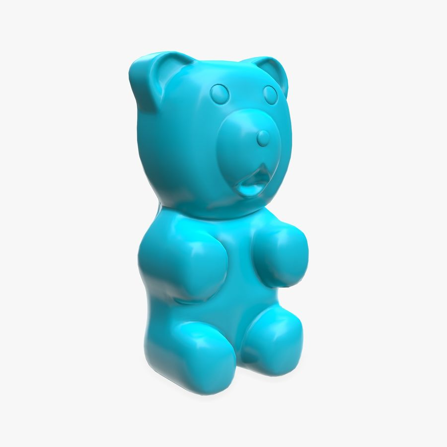 Gummy bear royalty-free 3d model - Preview no. 1