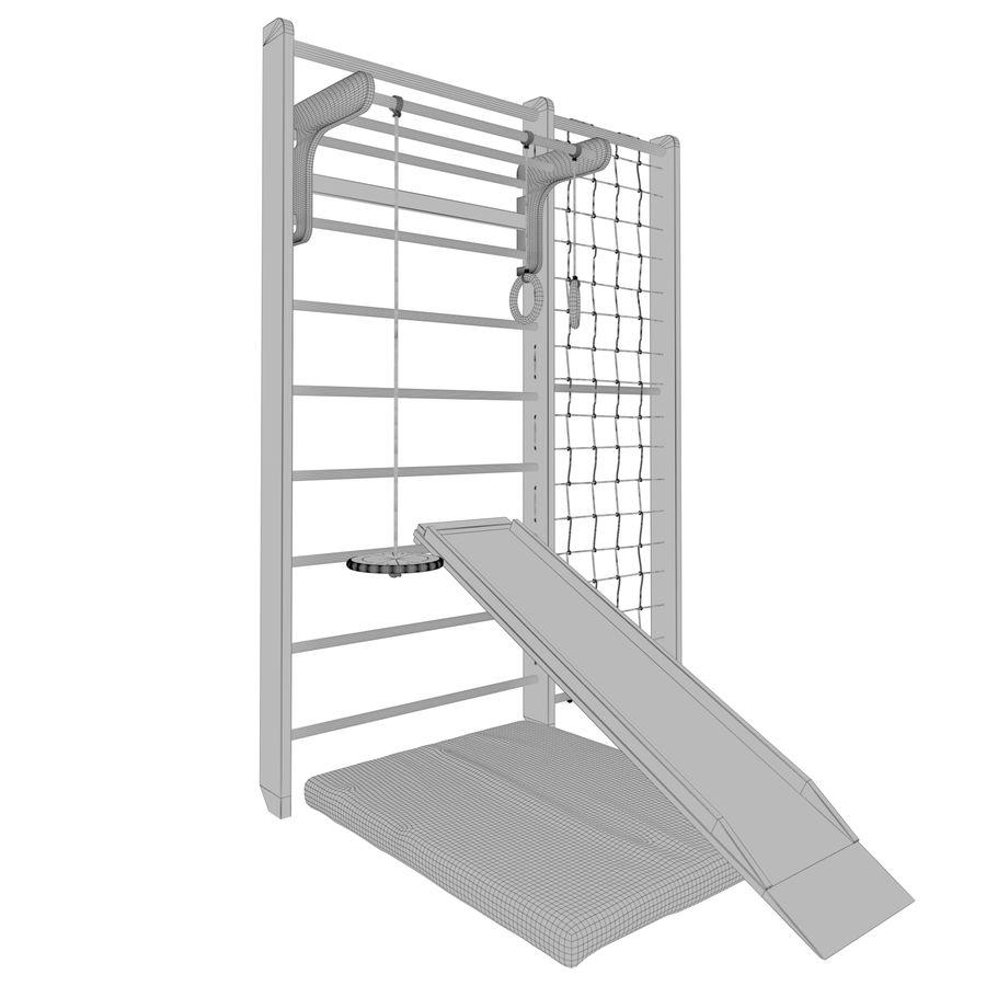 Ściana siłowni royalty-free 3d model - Preview no. 5