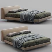 Alivar Bed FENG 3d model