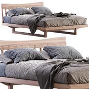 巴姆巴姆木床 3d model