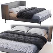 Busnelli Bed YUME 3d model