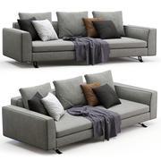 Busnelli soffa BURTON 3d model