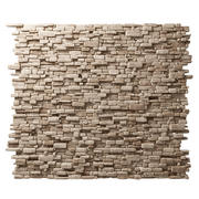 Кирпич камень камень декоративная стена 3d model