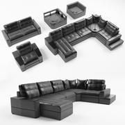 Sofá modul-sheridans modelo 3d