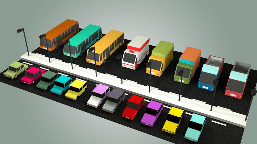 Paquete de vehículos royalty-free modelo 3d - Preview no. 1