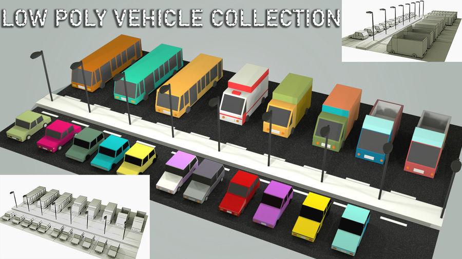 Paquete de vehículos royalty-free modelo 3d - Preview no. 2