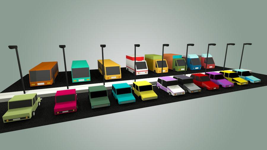 Paquete de vehículos royalty-free modelo 3d - Preview no. 5