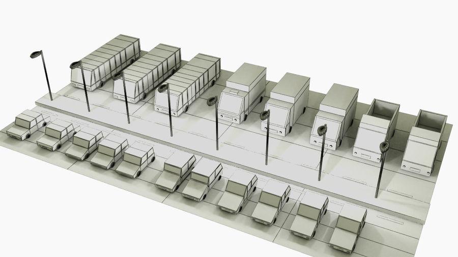 Paquete de vehículos royalty-free modelo 3d - Preview no. 7