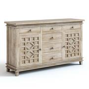 Pottery Barn - Luella Dresser 3d model