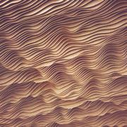 Techo de madera paramétrico Hall n3 modelo 3d