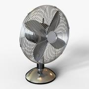 Ventilatore da scrivania classico 3d model