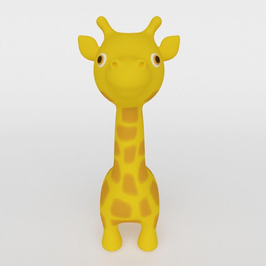 Giraffe Cute cartoon character royalty-free 3d model - Preview no. 2