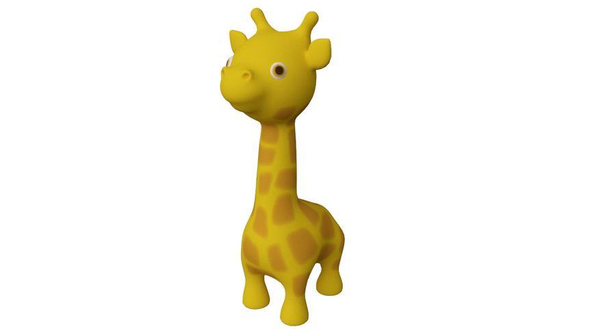 Giraffe Cute cartoon character royalty-free 3d model - Preview no. 1