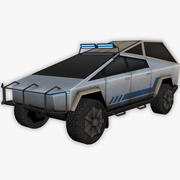 Tesla Cybertruck Off-road Edition 3d model