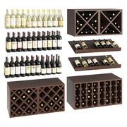 Wijn set 3d model