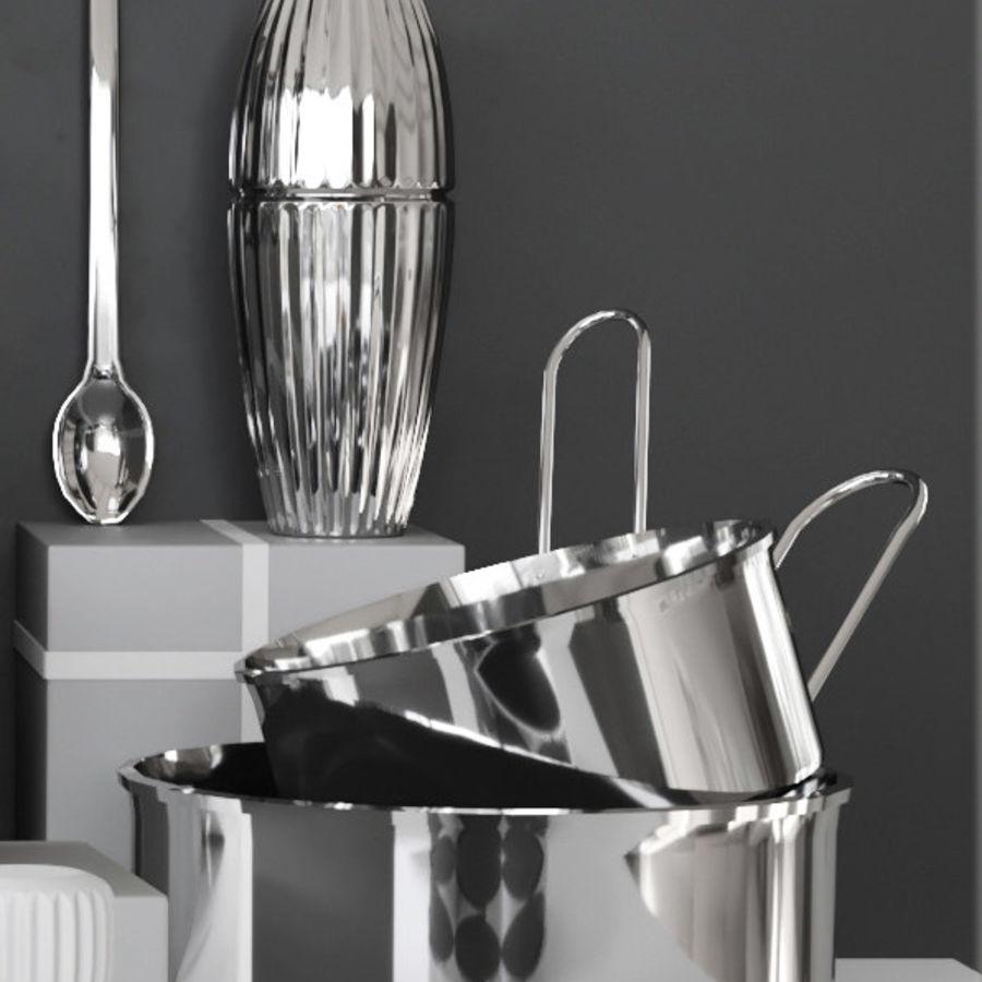 Aparelhos de cozinha 3 royalty-free 3d model - Preview no. 4