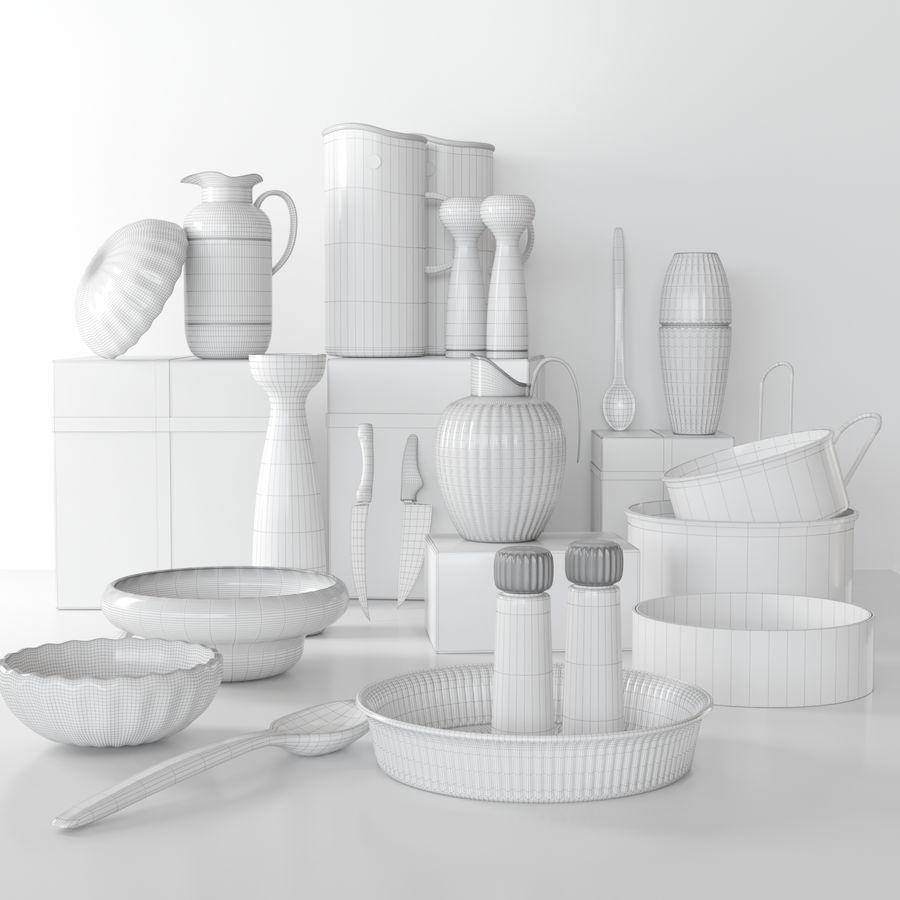 Aparelhos de cozinha 3 royalty-free 3d model - Preview no. 2