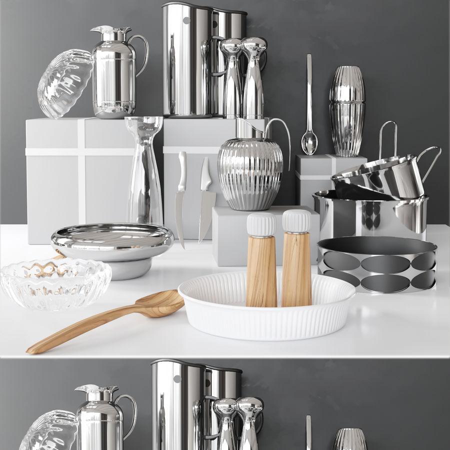 Aparelhos de cozinha 3 royalty-free 3d model - Preview no. 1