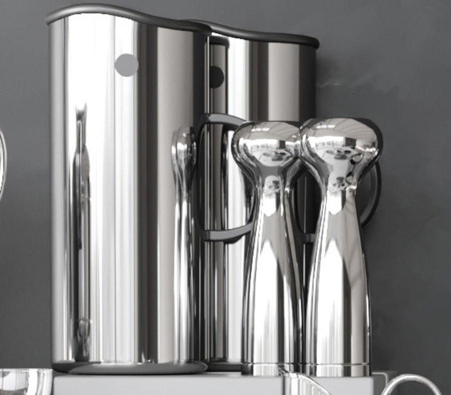 Aparelhos de cozinha 3 royalty-free 3d model - Preview no. 3