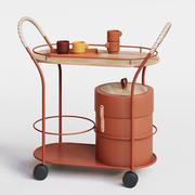 Wózek do herbaty Bistro Mizetto 3d model