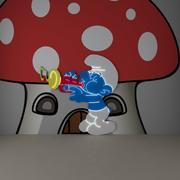 musique profiter de dessin animé mignon 3d model
