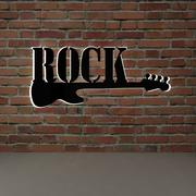 Rock müzik 3d model