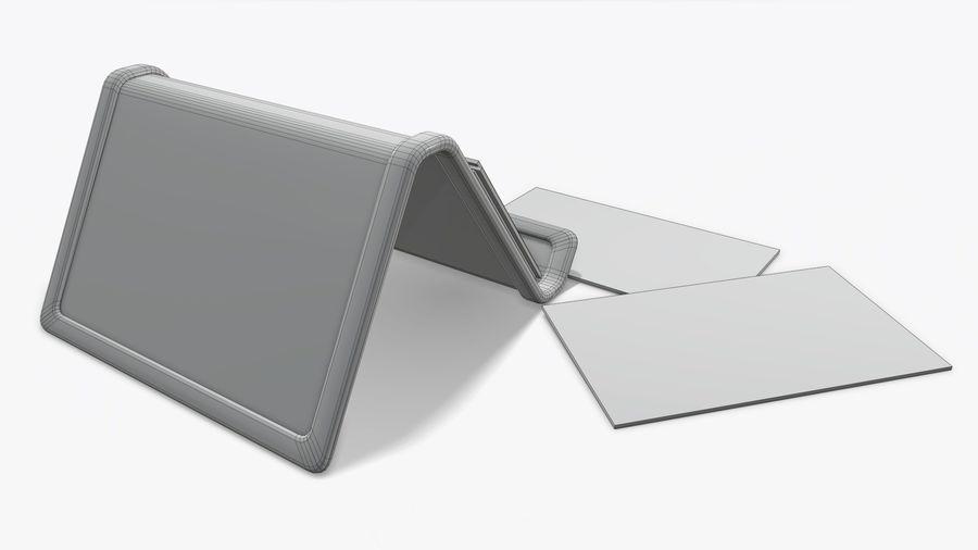 名片夹 royalty-free 3d model - Preview no. 8