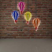 colorful balloon 3d model