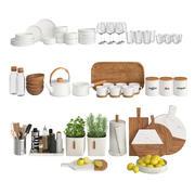 Keuken Decor - licht 3d model