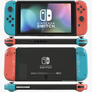 Console Nintendo Switch 3d model